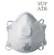 23206 - PORMASZK 23206 SZELEPES FFP2 SLD/10 DB - Származási ország: Kína Anyaga: műanyag-szövet SUPAIR 23206 FFP2 NR D SZELEPES RÉSZECSKESZŰRŐ MASZK: • gyenge mérgek és mérsékelten veszélyes szilárd és folyékony részecskék ellen (pl. keményfa-porok, üveggyapot, műanyagok, ásványi olajok, fémpor és füst, alumínium, kvarc, réz, baktériumok) • D jelölése igazolja, hogy a részecskeszűrő megfelelt a dolomit teszt eredményének, kis légzési ellenállás megtartása mellett garantálva az eltömődés nélküli, hosszabb idejű használhatóságot • kónusz forma, alumínium orrcsipesz, kényelmes felfekvést segítő szivacscsík; nem allergén • külső és belső pp-SMS réteg, elektrosztatikus polipropilén közszűrő • felhelyezés két rugalmas szintetikus latexmentes gumipánttal • névleges védelmi tényező: 12 EH • 23206: kilégzést segítő szeleppel • SÚLY: 16 g • CSOMAGOLÁS: 120/10 • EU szabvány: EN149:2001 + A1:2009