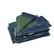 77323 - TAKARÓPONYVA 2X3 M 150 GR 77323 - 150 GR/M2 2X3M PONYVAPOLIETILÉN TAKARÓPONYVA: • 150 g/m2 polietilén takaróponyvák • SZÍN: kék/zöld • fél méterenként minden oldalukon fémgyűrűk segítik a biztonságos rögzítést • 77323: 2x3 m