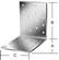 070934000 - VORMANN DERÉKSZÖGŰ LEMEZ  70934 40X40X60 MM 50 DB 2,5 MM - CE-tanúsítvánnyaltüzihorganyzottfaszerkezetek csapolás nélküli kialakításáhozgyűrűsszeggel rögzítendő