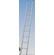 121813 - LÉTRA ALU KRAUSE TÁMASZTÓ 1X18 FOKOS  SIBILO - 5,20 m Sibilo fix ár  Kifutó termék. Akció a készlet erejéig!