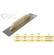13A250 - ACÉL FELHÚZÓ TOPEX 13A250 680 MM - TOPEX 130 mm hosszú egyenes simító. Ragasztók, habarcsok, vakolatok felvitelére és elsimítására szolgál. Munkafelülete kiváló minőségű rozsdamentes acélból készül. A kézreálló fa markolat jól fekszik a tenyérben, növelve a munkavégzés kényelmét. A TOPEX márka ezermestereknek készül.