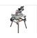 59G824 - GÉRVÁGÓGÉP GRAPHITE  59G824 1400W ÁLLVÁNYOS - Az 1400 W-os professzionális GRAPHITE univerzális körfűrész (kat. sz. 59G824) rendeltetése nagy vastagságú fa és fa alapú anyagok vágása és megmunkálása. Az elforgatható asztal beállításától függően működhet gérvágó fűrészként vagy asztali körfűrészként - az átállításhoz nem kell szerszám. Lehet vágni 0° – 45°–os szögben mindkét síkban. A fűrésztárcsa maximális fordulatszáma 5000 perc??. A munkaasztal és a külső ház strapabíró alumínium ötvözetből készül A biztonságot és a munkaterületen a rend fenntartását szolgálja a véletlen bekapcsolást megakadályozó reteszeléssel ellátott motorindító mágneskapcsoló és az integrált forgácskivezető rendszer. A gép szállítását megkönnyítik az összecsukható lábak, a nagyméretű járókerekek és a praktikus akasztók a hálózati csatlakozókábel tárolásához. Szükség esetén az elhasználódott szénkefék saját kezűleg is kicserélhetők. A fűrészhez mellékelt tartozékok: összecsukható lábak, csavarok és marokcsavarok, vezetőlécek, függőleges szorító, fűrésztárcsa borítás, állítható szögmérő, tolósegéd, porzsák, szerelőkulcsok. A CE tanúsítvány bizonyítja az európai szabványoknak való megfelelést.