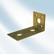 1250604080 - SZEGLEMEZ IBFM ELTOLT 40x80 MM/10 DB -