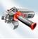 59G086 - SAROKCSISZOLÓ GRAPHITE  59G086 125 MM 860 W - A GTX szortimentjéből kikerült termék. Nem rendelhető.