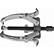 11-857 - CSAPÁGYLEHÚZÓ NEO 11-857 6˝ 150mm - A NEO háromkörmös csapágylehúzó kiváló minőségű, a szerszámnak hosszú élettartamot biztosító króm-vanádium acélból készül. Közös tengelyen illesztett elemek elválasztására szolgál. A karok speciális profilú körmei védik az elválasztott elemeket a sérülésektől A termék kiváló minőségét és megbízhatóságát bizonyítja a TÜV Rheinland tanúsítvány. A NEO márka a professzionális igényeket is kielégíti.