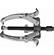 11-858 - CSAPÁGYLEHÚZÓ NEO 11-858 8˝ 200 mm - A NEO háromkörmös csapágylehúzó kiváló minőségű, a szerszámnak hosszú élettartamot biztosító króm-vanádium acélból készül. Közös tengelyen illesztett elemek elválasztására szolgál. A karok speciális profilú körmei védik az elválasztott elemeket a sérülésektől A termék kiváló minőségét és megbízhatóságát bizonyítja a TÜV Rheinland tanúsítvány. A NEO márka a professzionális igényeket is kielégíti.
