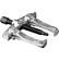 11-865 - CSAPÁGYLEHÚZÓ NEO 11-865   85 x 100 mm - A NEO kétkörmös csapágylehúzó kiváló minőségű, a szerszámnak hosszú élettartamot biztosító króm-vanádium acélból készül. Mérete 85 mm x 100 mm. Csapágyak, forgólapátok, féktárcsák, stb. leszedésére szolgál. A karok nyitása vezetőkön szabályozható. A NEO márka a professzionális igényeket is kielégíti.