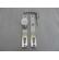 062200 - GOMBOS KILINCS G. EL74/90/CLY/ALU/5GA -