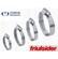 3801001202700 - CSŐBILINCS  16-27/12 MM W2+ FRIULSIDER/100 DB - INOX