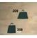 FD208 - KAPA HEGESZTETT 29 DKG SZÖGLETES FD208 - Nyél nélkül szállítjuk, kispancsovai kapanyél való hozzá.